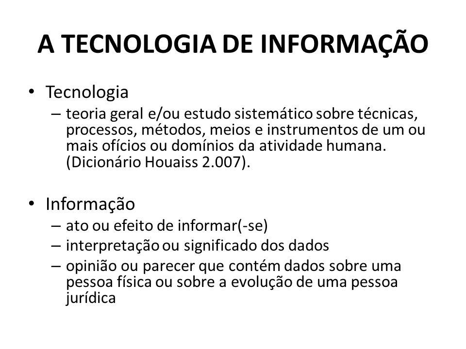 Tecnologia – teoria geral e/ou estudo sistemático sobre técnicas, processos, métodos, meios e instrumentos de um ou mais ofícios ou domínios da atividade humana.