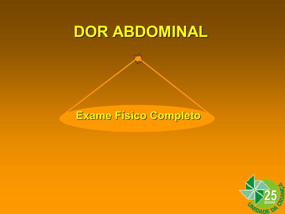 DOR ABDOMINAL Exame Físico Completo