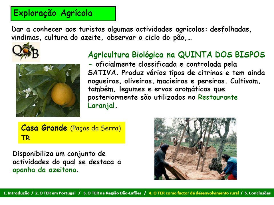 Exploração Agrícola Agricultura Biológica na QUINTA DOS BISPOS - oficialmente classificada e controlada pela SATIVA. Produz vários tipos de citrinos e