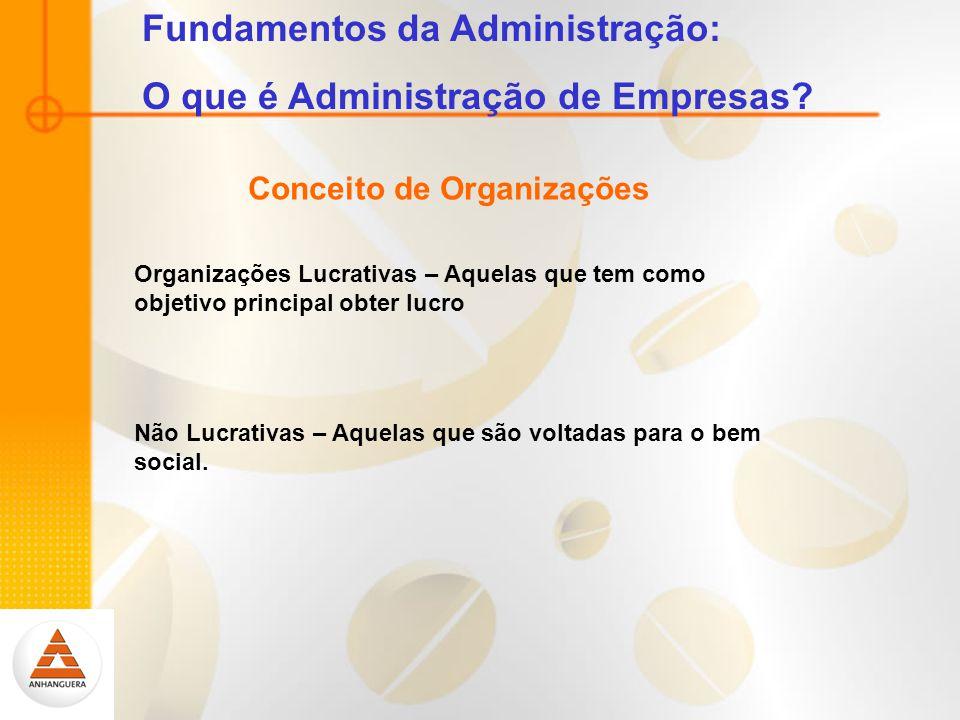 Fundamentos da Administração: O que é Administração de Empresas.