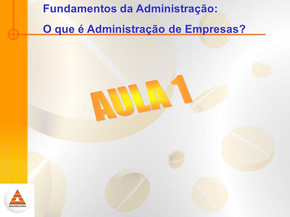 Fundamentos da Administração: O que é Administração de Empresas?