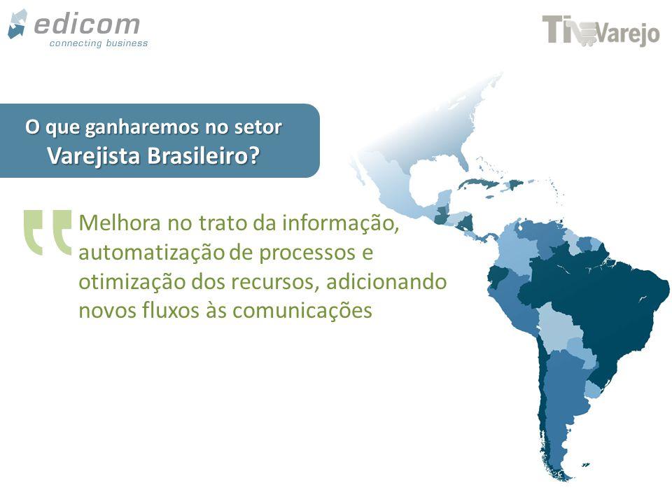 www.edicomgroup.com EDICOM fomenta soluções que otimizam o fluxo de informações nas Cadeias Varejistas Referente Mundial em Tecnologias B2B Edicom Certifies