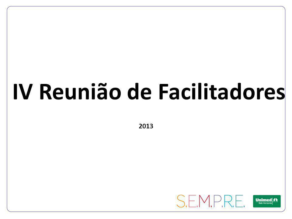 IV Reunião de Facilitadores 2013
