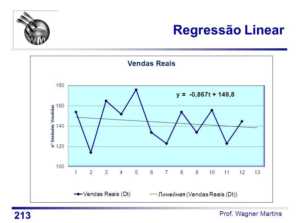 Prof. Wagner Martins Regressão Linear 213