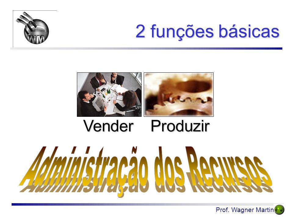 Prof. Wagner Martins 2 funções básicas ProduzirVender