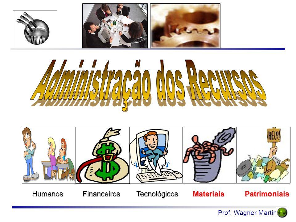 Prof. Wagner Martins Humanos FinanceirosTecnológicosMateriais Patrimoniais