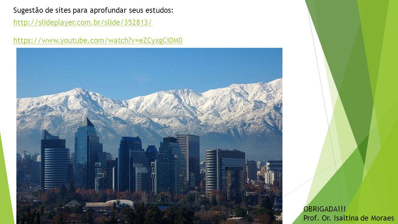http://slideplayer.com.br/slide/352813/ https://www.youtube.com/watch v=eZCyxgCi0M0 Sugestão de sites para aprofundar seus estudos: OBRIGADA!!.