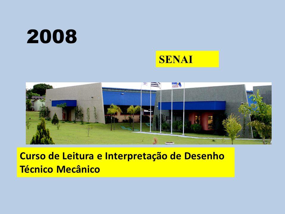 2008 SENAI Curso de Leitura e Interpretação de Desenho Técnico Mecânico