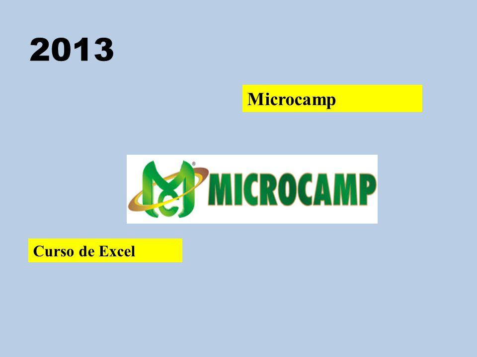 2013 Microcamp Curso de Excel