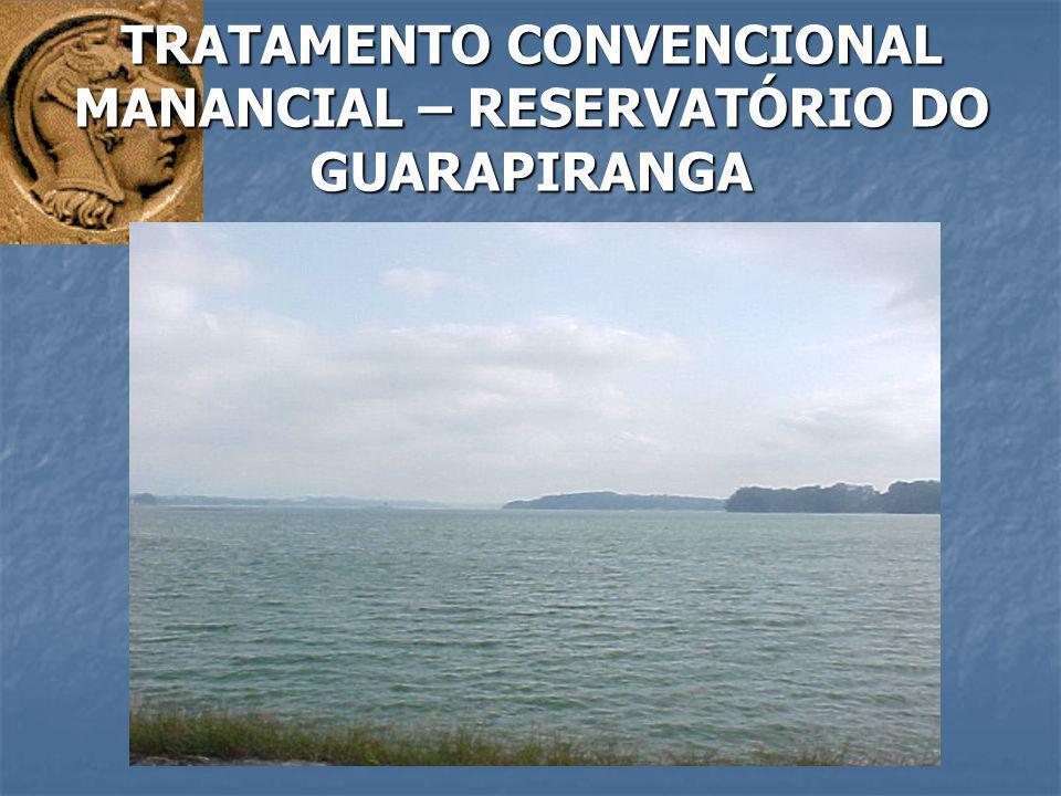 TRATAMENTO CONVENCIONAL MANANCIAL – RESERVATÓRIO DO GUARAPIRANGA