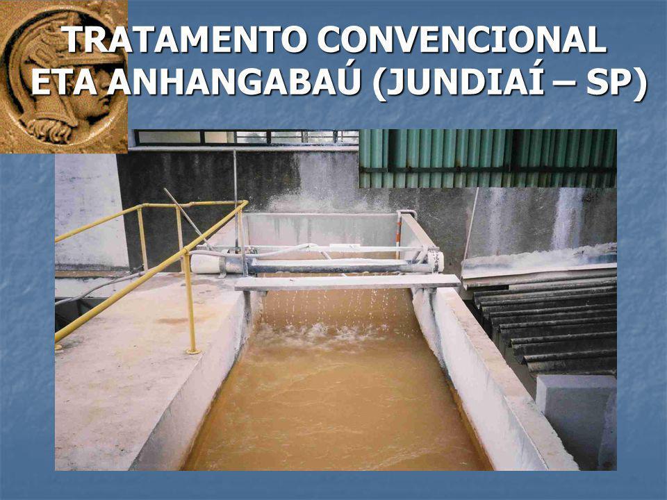 TRATAMENTO CONVENCIONAL ETA ANHANGABAÚ (JUNDIAÍ – SP) ETA ANHANGABAÚ (JUNDIAÍ – SP)