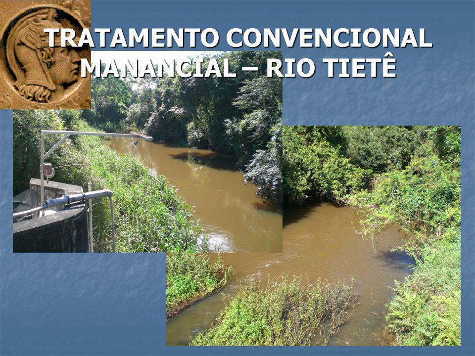 TRATAMENTO CONVENCIONAL MANANCIAL – RIO TIETÊ