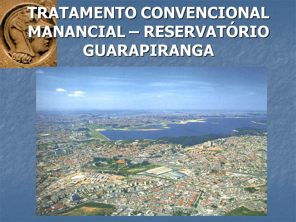 TRATAMENTO CONVENCIONAL MANANCIAL – RESERVATÓRIO GUARAPIRANGA
