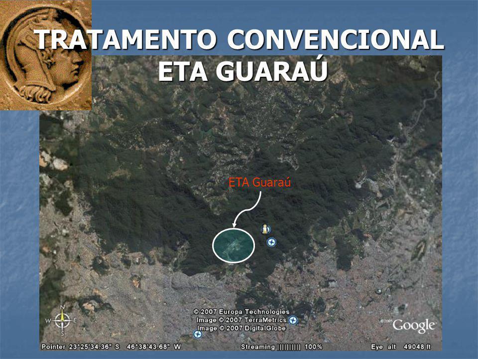 ETA Guaraú TRATAMENTO CONVENCIONAL ETA GUARAÚ