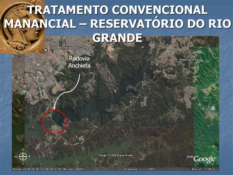 Rodovia Anchieta TRATAMENTO CONVENCIONAL MANANCIAL – RESERVATÓRIO DO RIO GRANDE