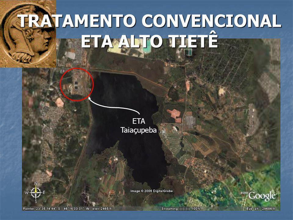 ETA Taiaçupeba TRATAMENTO CONVENCIONAL ETA ALTO TIETÊ