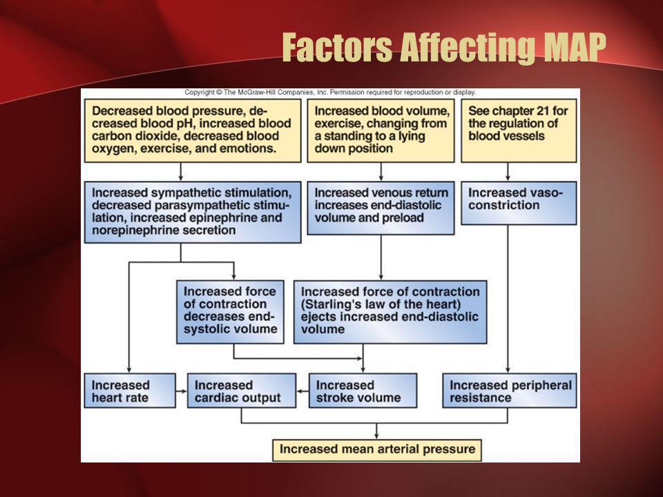 Factors Affecting MAP
