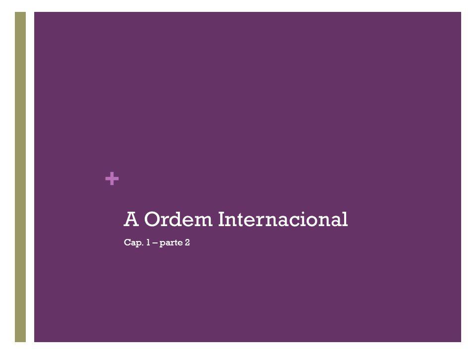 + A Ordem Internacional Cap. 1 – parte 2