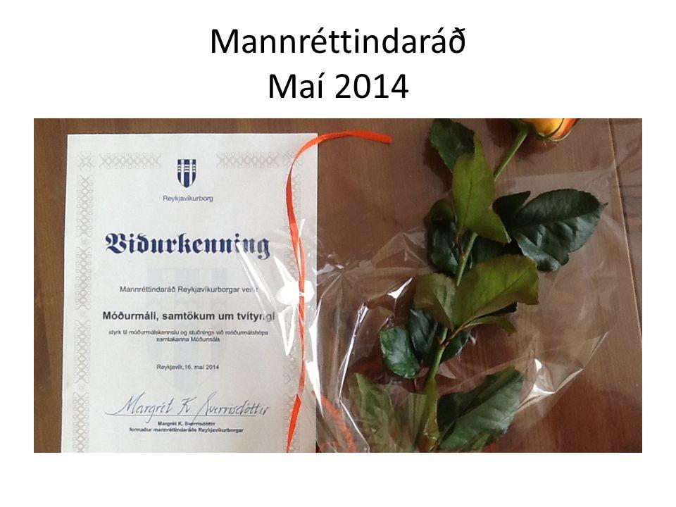 Mannréttindaráð Maí 2014