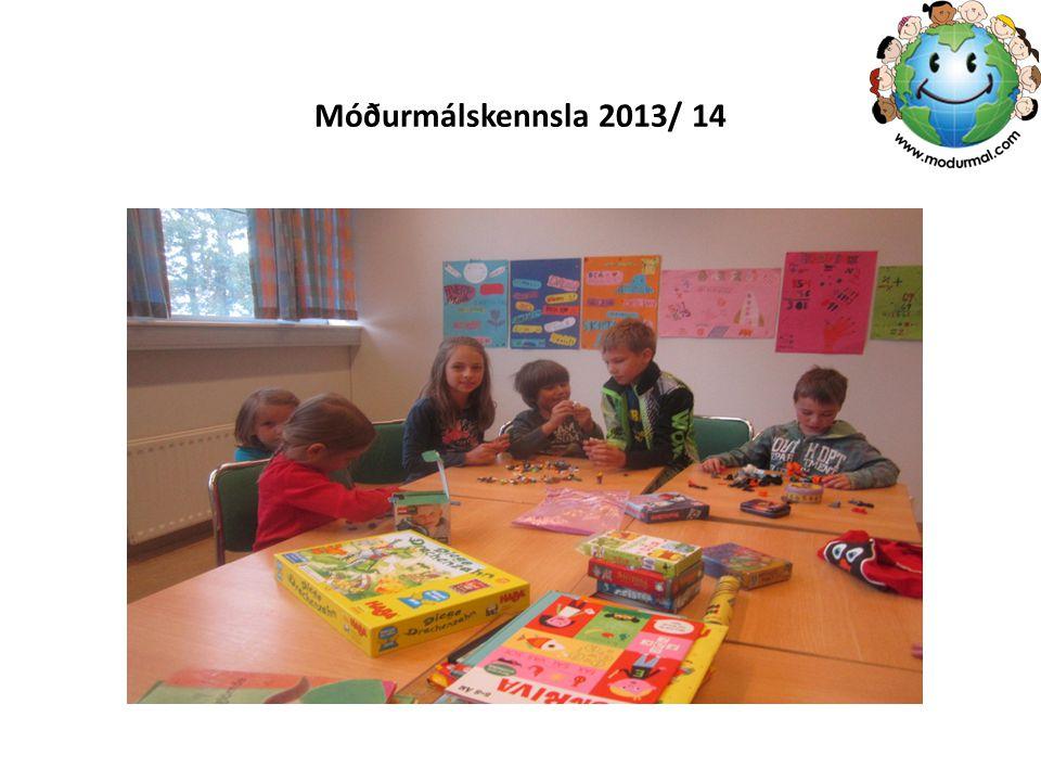 Móðurmálskennsla 2013/ 14