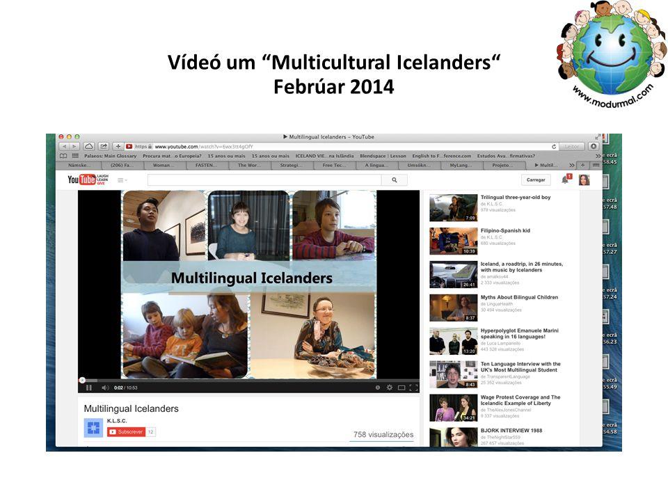 """Vídeó um """"Multicultural Icelanders"""" Febrúar 2014"""