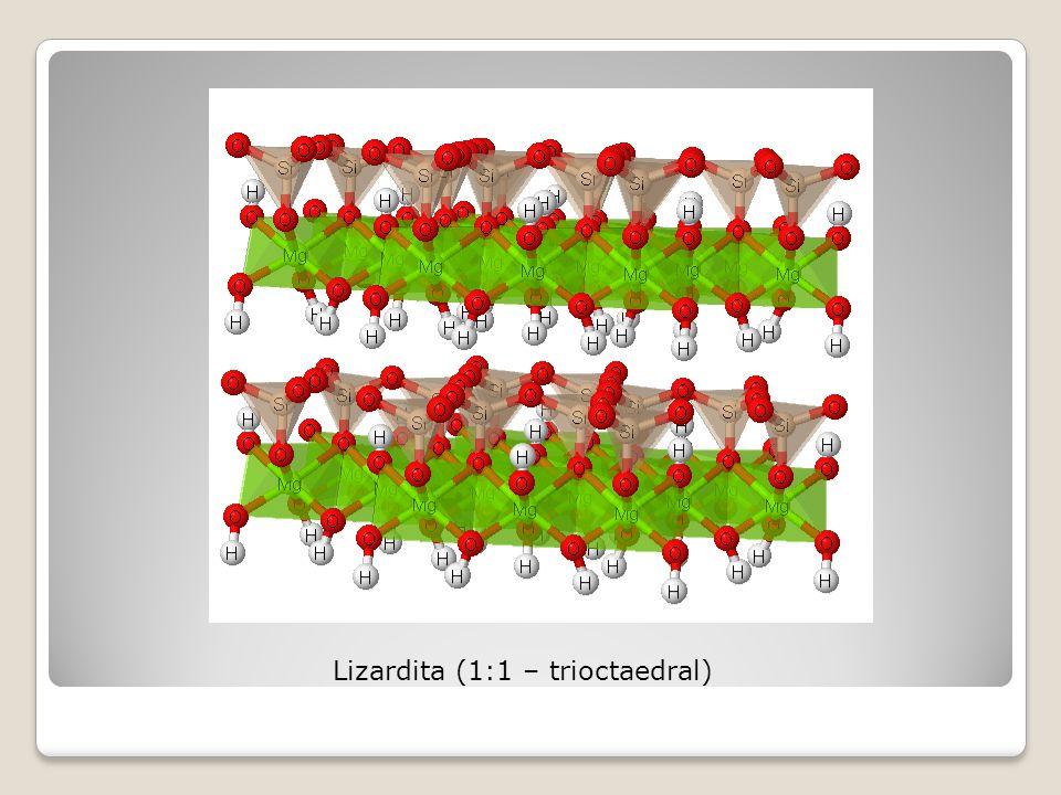 Lizardita (1:1 – trioctaedral)