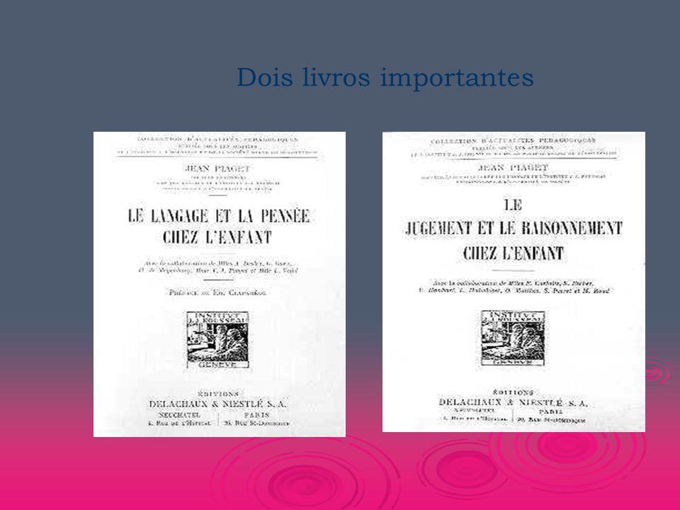 Dois livros importantes