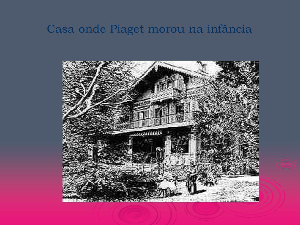  Piaget buscou compreender como o homem chega ao conhecimento.