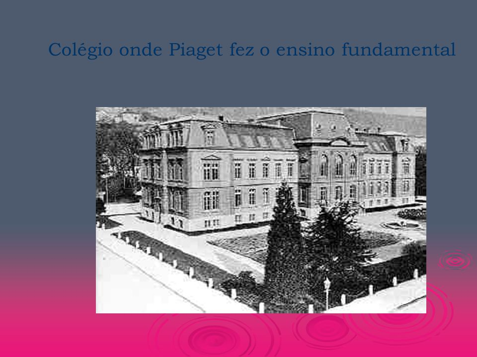 Colégio onde Piaget fez o ensino fundamental