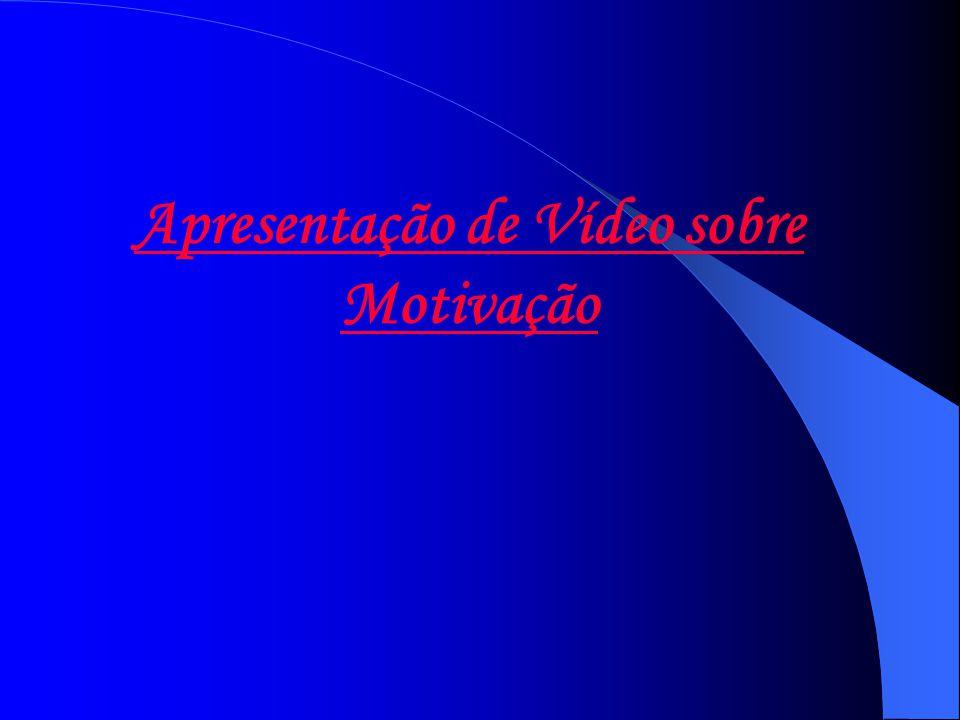 Apresentação de Vídeo sobre Motivação