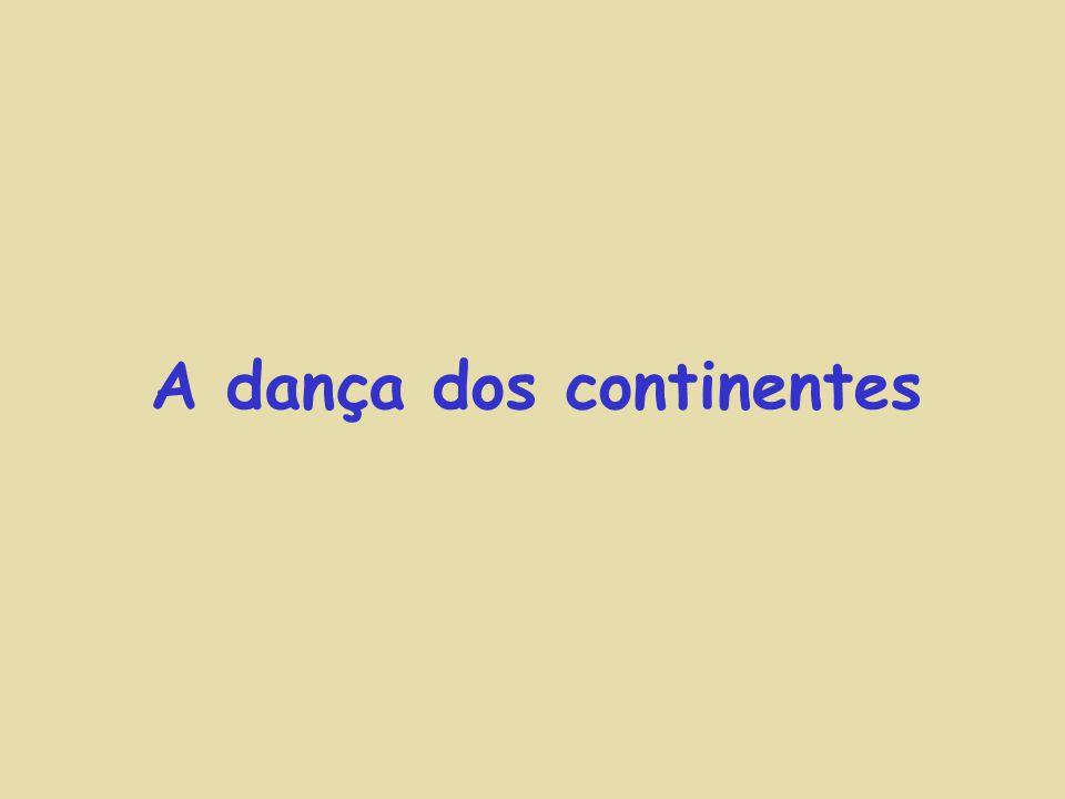 A dança dos continentes