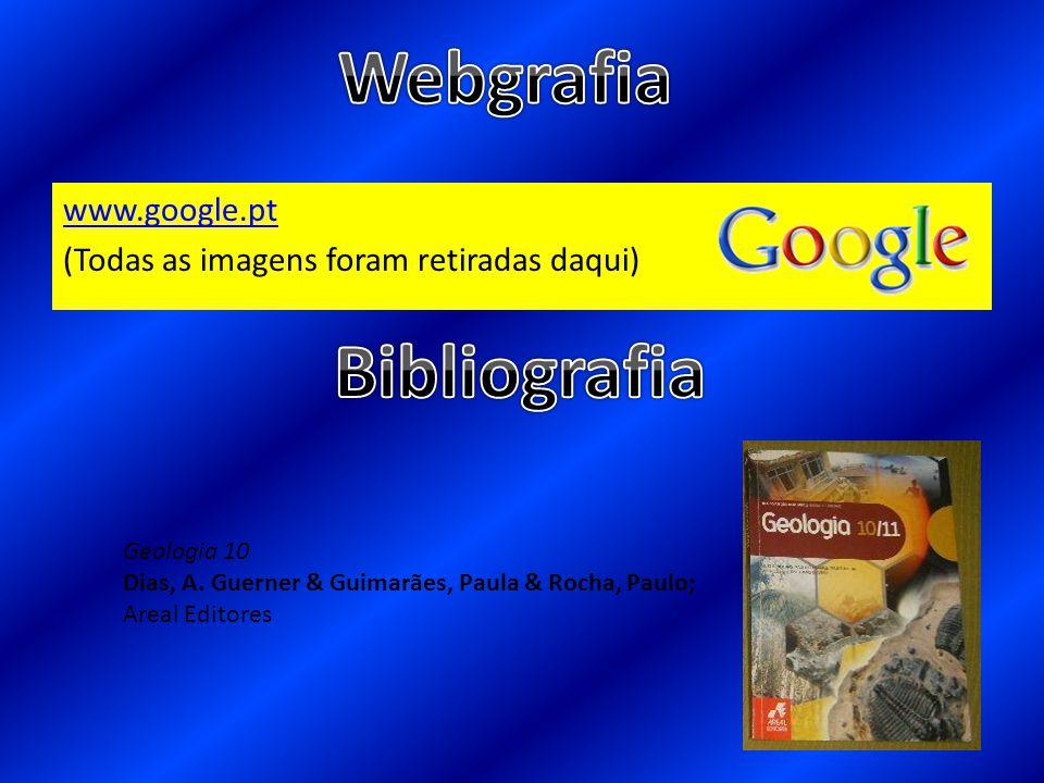 www.google.pt (Todas as imagens foram retiradas daqui) Geologia 10 Dias, A. Guerner & Guimarães, Paula & Rocha, Paulo; Areal Editores