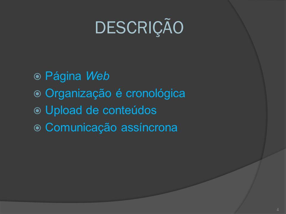 PONTOS FORTES  Gratuito  Opções gráficas pré-existentes, permitem que os utilizadores se centrem no conteúdo e não na forma  Permite integrar além de texto, ficheiros multimédia  É facilmente adaptável a diferentes objectivos, conteúdos disciplinares e a faixas etárias  Facilita a comunicação independentemente do local e da hora  Abrange um público mais vasto que a turma  Incentiva a pesquisa de informação, a autonomia, a responsabilidade e o respeito por diferentes pontos de vista  Permite o desenvolvimento de competências digitais  Adapta-se muito bem a uma perspectiva construtivista /construcionista da aprendizagem 15
