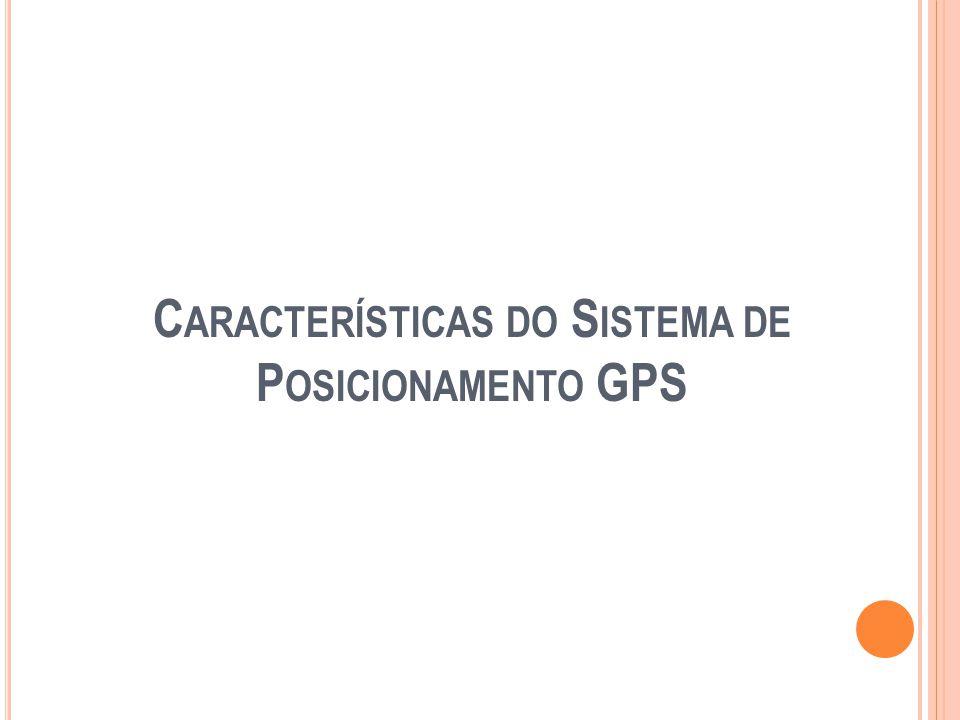  Uma descrição da contribuição puramente geometrica dos satélites na incerteza numa posição fixa  É um indicador sobre a geometria dos satélites que são avistados na hora de medida  GDOP  GDOP (Geometrico)  Lat, Lon, Alt.