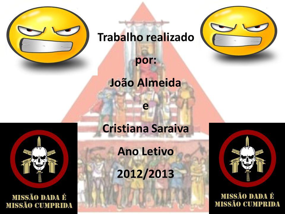 Trabalho realizado por: João Almeida e Cristiana Saraiva Ano Letivo 2012/2013