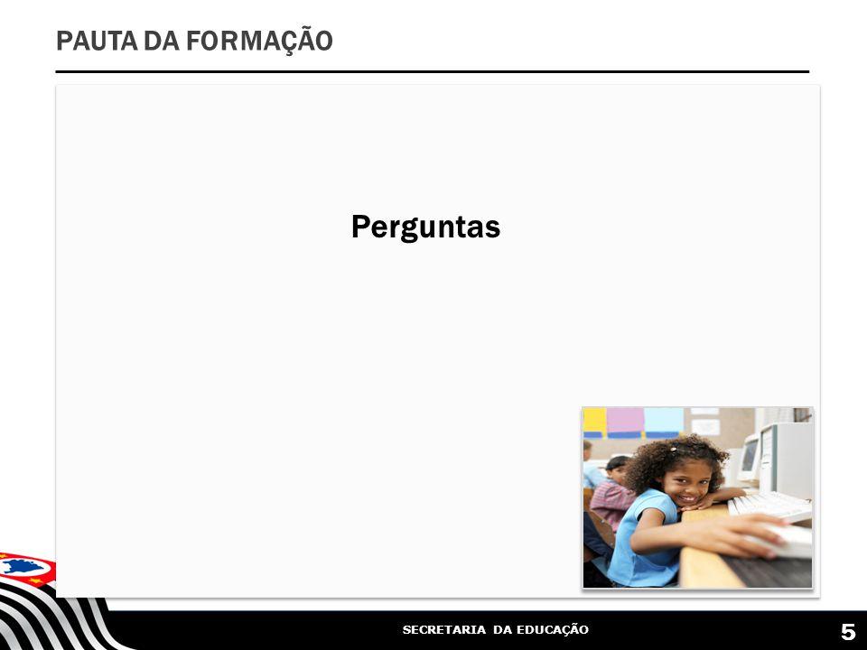 SECRETARIA DA EDUCAÇÃO 6