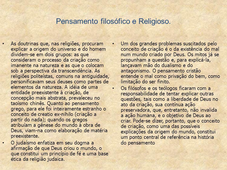 CRIACIONISMO x EVOLUCIONISMO.