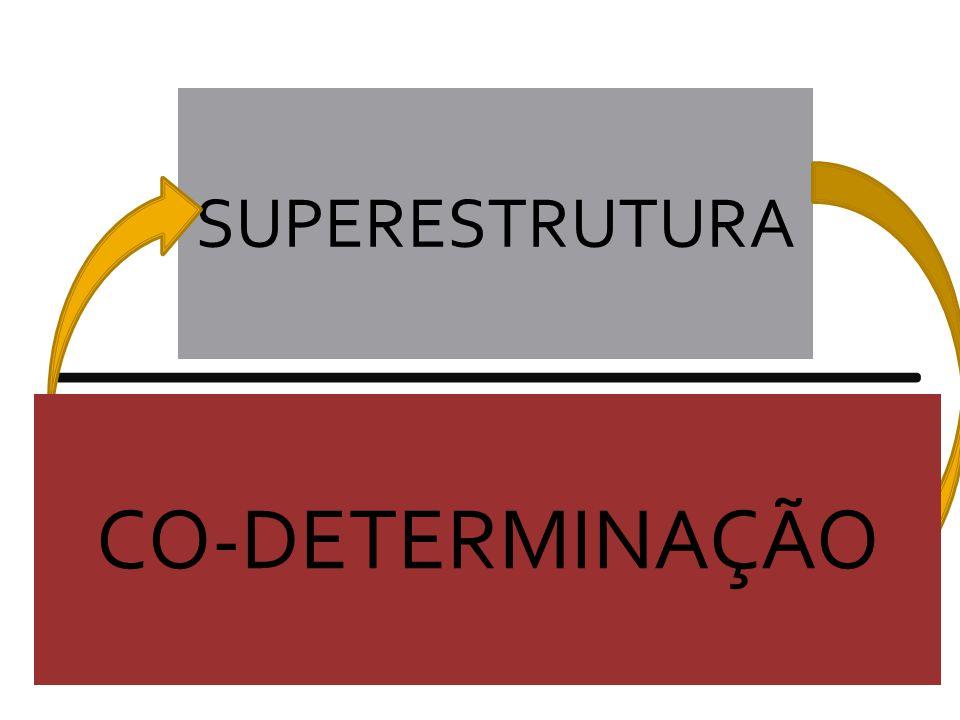 ESTRUTURA ECONÔMICA DA SOCIEDADE SUPERESTRUTURA CO-DETERMINAÇÃO