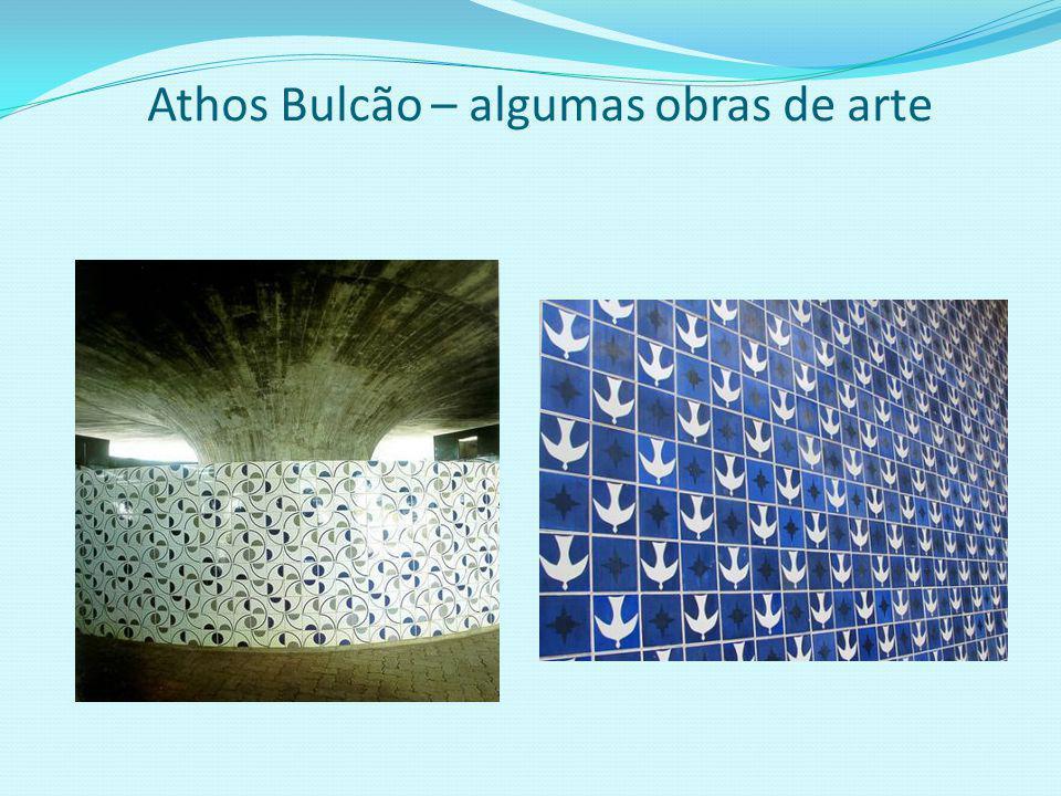 Athos Bulcão – Exemplo de personalidade Todos que observam as obras de arte do mestre Athos Bulcão admiram-nas pela beleza, mais também por uma caract