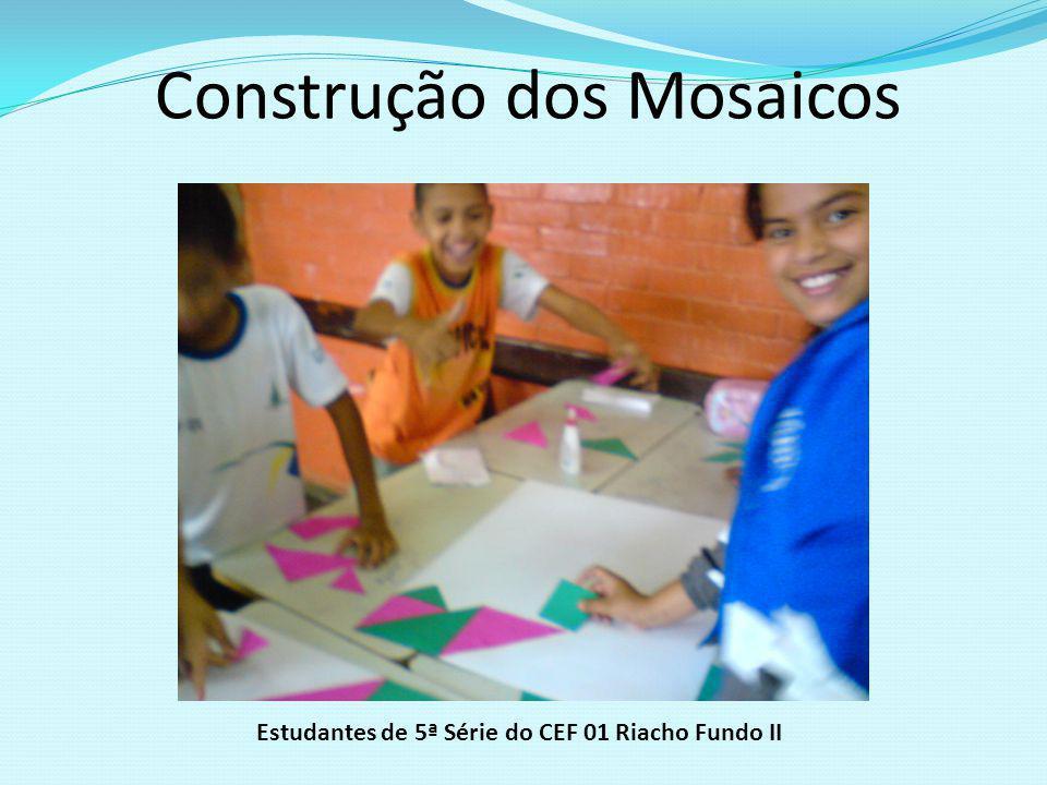 Projeto ARTE-MÁTICA 2009 Construção de MOSAICOS com peças do Tangram Inspiradas nas obras de Athos Bulcão