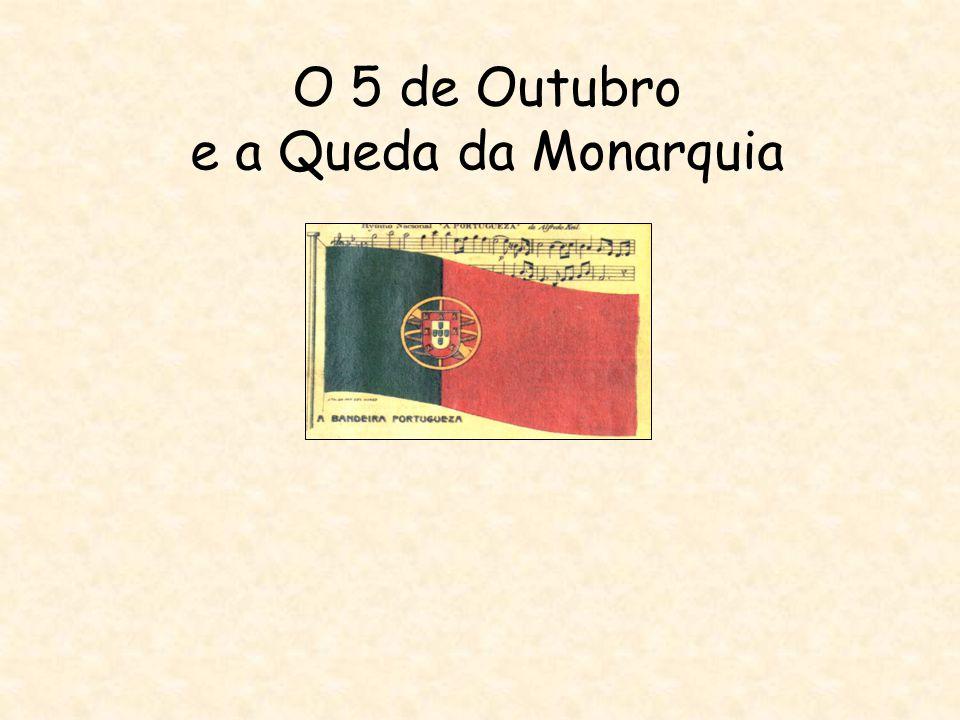Índice Introdução O 5 de Outubro e a Queda da Monarquia O rei D.