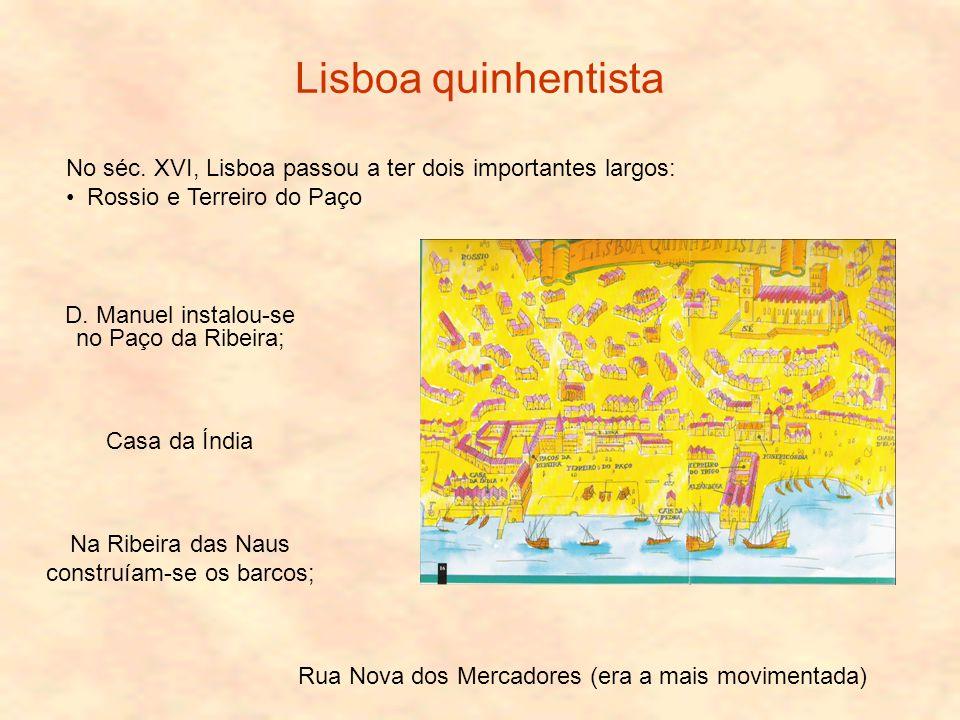 Lisboa quinhentista No séc.