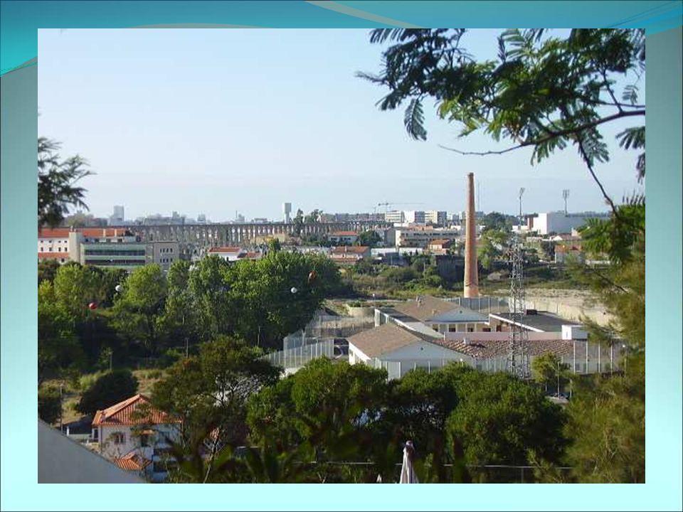 A cidade vista desde o Monte de Sant'ana