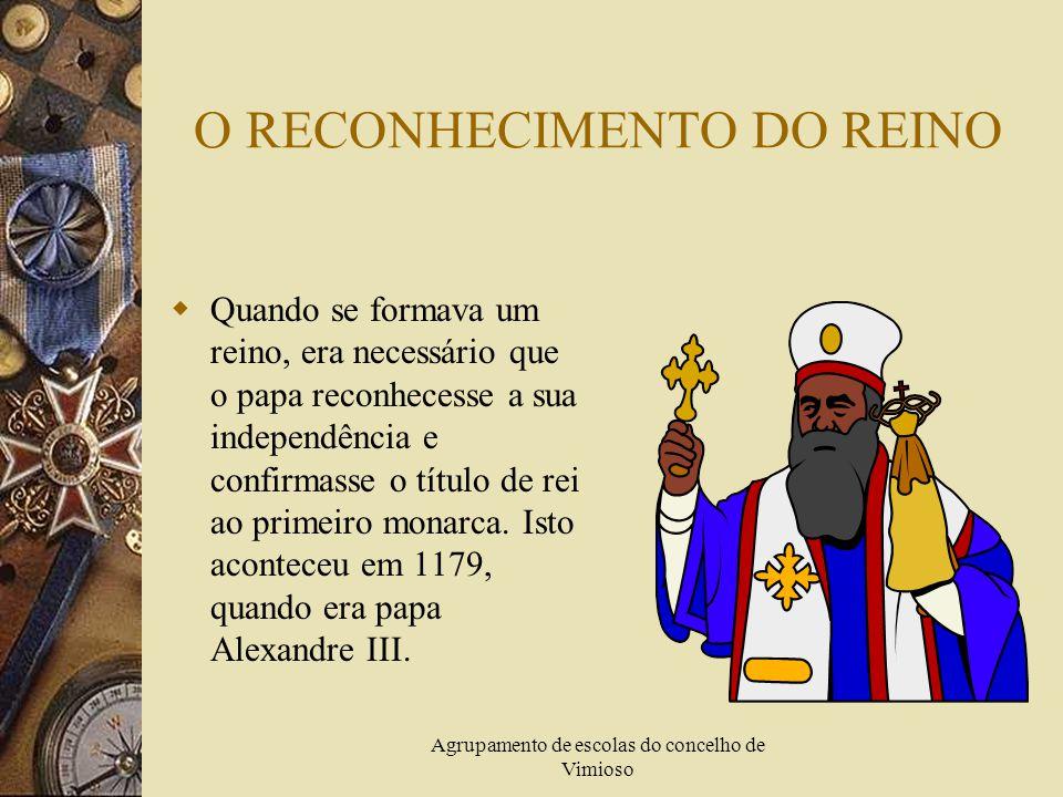 Agrupamento de escolas do concelho de Vimioso A PRIMEIRA CAPITAL DE PORTUGAL  Logo que D. Afonso Henriques tomou conta do poder, escolheu para capita