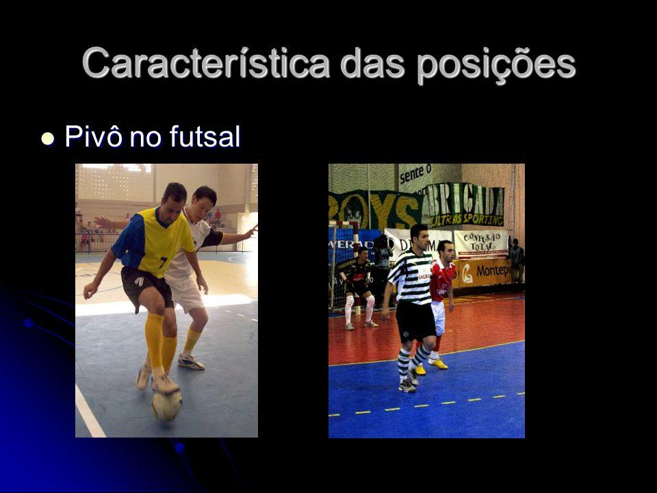 Característica das posições Pivô no futsal Pivô no futsal
