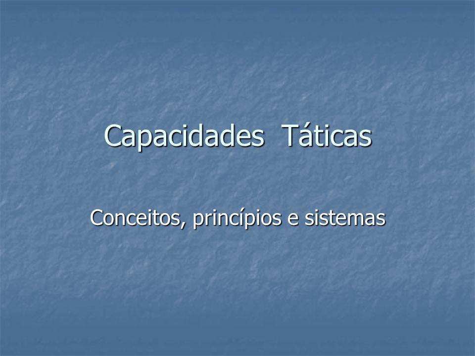 Capacidades Táticas Conceitos, princípios e sistemas