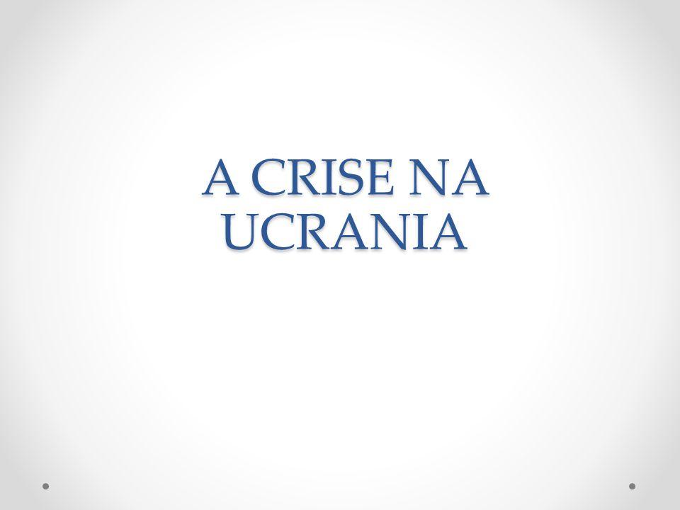 O que está em jogo.A crise na Ucrânia faz parte de um cenário maior.