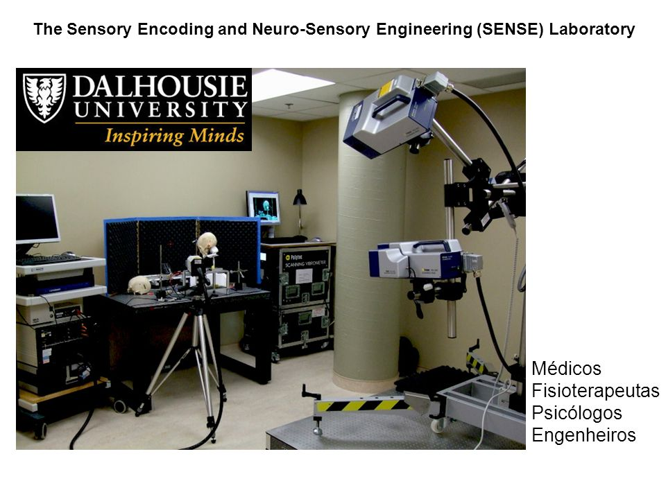 The Sensory Encoding and Neuro-Sensory Engineering (SENSE) Laboratory Médicos Fisioterapeutas Psicólogos Engenheiros