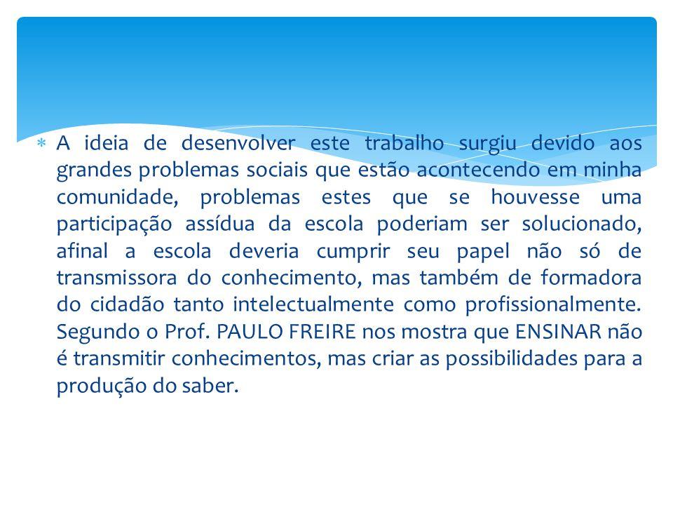  Fundamentar um modelo teórico curricular voltados para a formação dos alunos do Campo da Escola Municipal Professora Vera Lúcia Schmidt no Município de Nova Ubiratã- MT que permita a elaboração de uma estratégia para sua implementação.