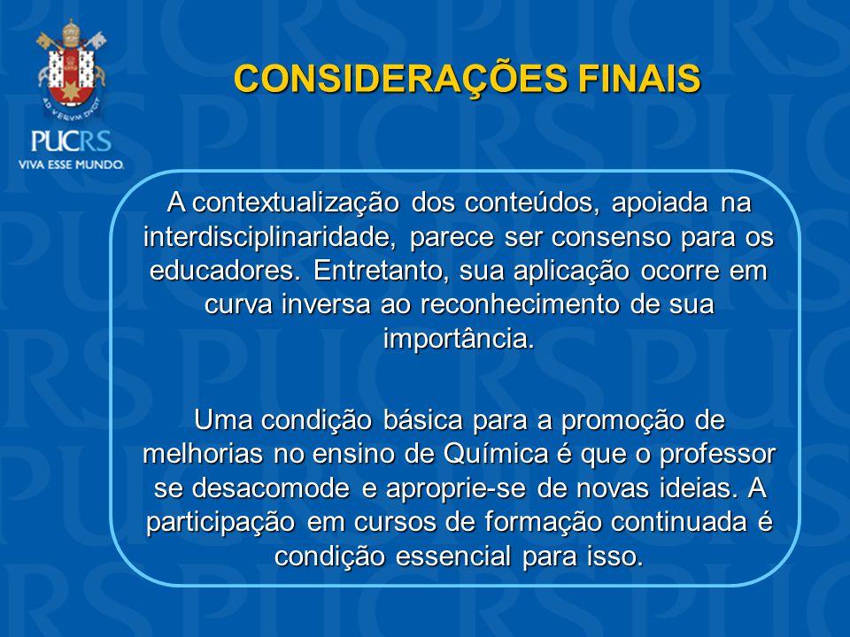 REFERÊNCIAS BRASIL.Ministério da Educação. Secretaria de Educação Média e Tecnológica.